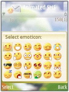 فرستادن شکلک ها در نوکیا Zensis Animated SMS v1